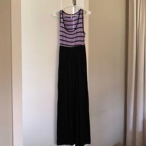 Small maternity maxi dress